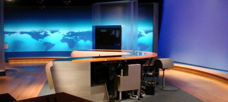 ARD Tagesschau Nachrichten Studio