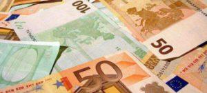 Euroscheine Geld