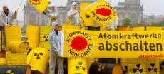 Geschäft mit Atomkraft? Nein danke-Logo boomt