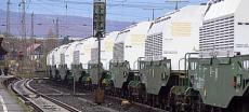 Erneut Castor-Transport auf dem Weg nach Deutschland