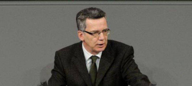 De Maizière will neue Form der Unterbringung für Schwerkriminelle