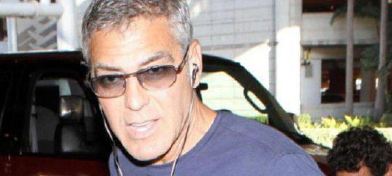 George Clooney trifft sich mit Barack Obama