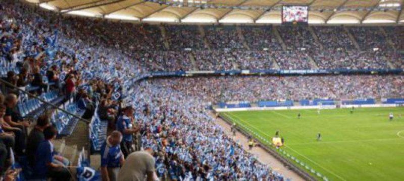 Imtech Arena Hamburg Fussball