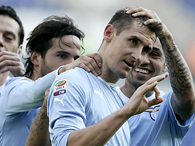 Lazio Rom – Atalanta Bergamo: Klose trifft