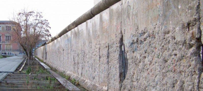 innerdeutsche Mauer, Niederkirchnerstraße in Berlin