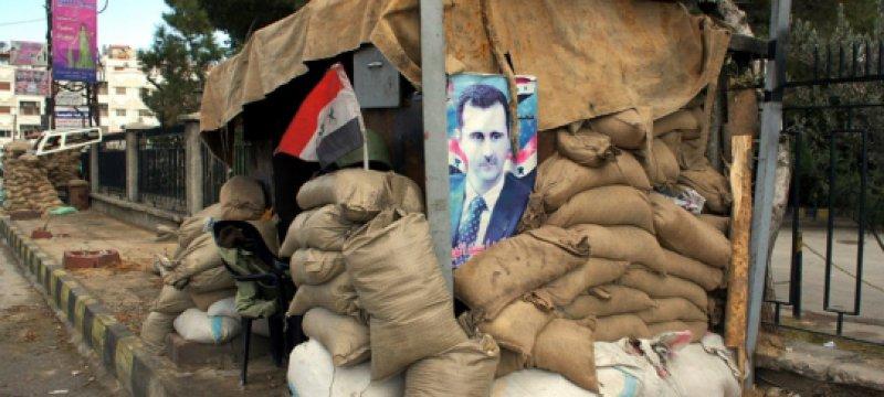 Straßenszene in Syrien