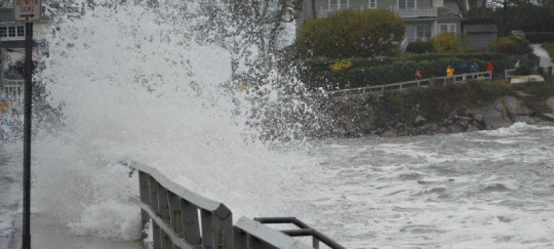 """Überflutung durch """"Sandy"""""""