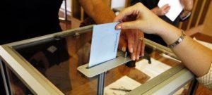Wahlurne Umfrage
