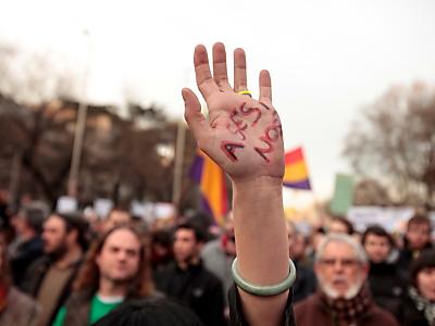 Spanier demonstrieren gegen Privatisierungen
