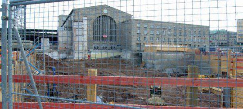 Stuttgart 21 Hauptbahnhof Baugrube