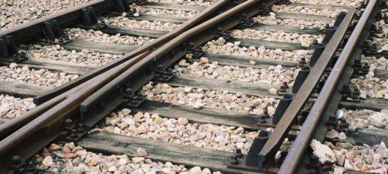 Eisenbahnweiche Gleis
