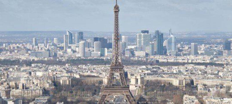 Frankreich Paris Eifelturm