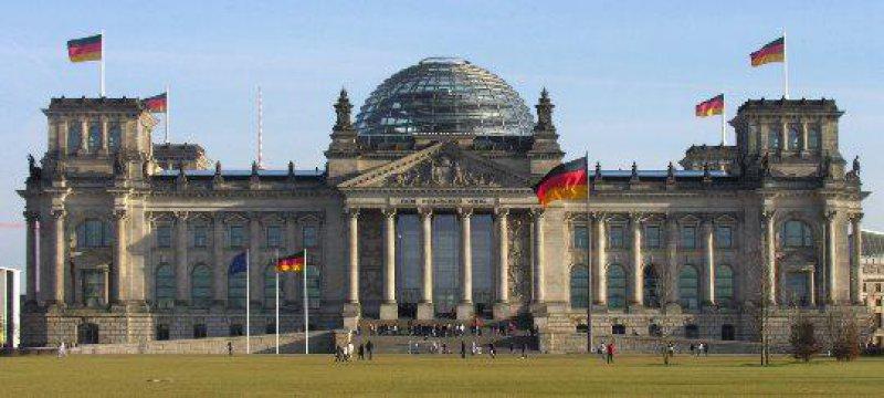 Deutscher Bundestag Platz der Republik Berlin
