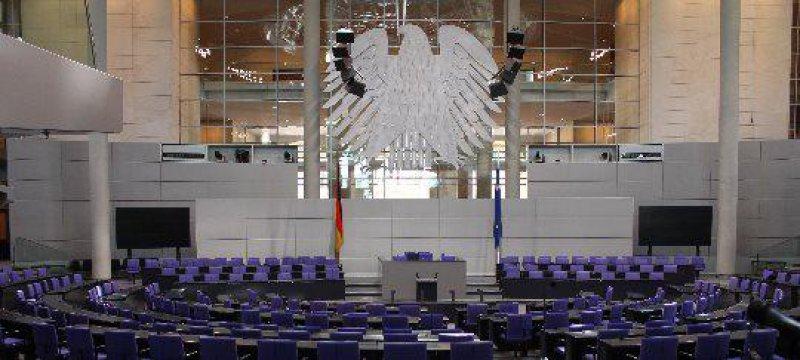 Plenarsaal Bundestag 2012