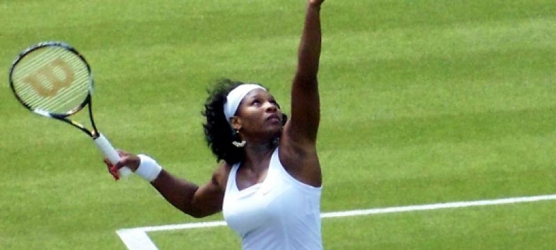 Serena Williams in Wimbledon