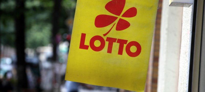 Lotto-Schild