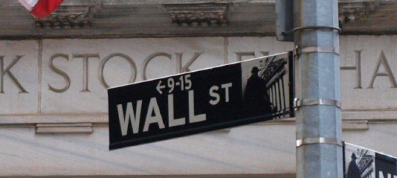 Wallstreet in New York