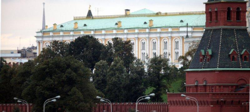 Mauer des Kreml in Moskau