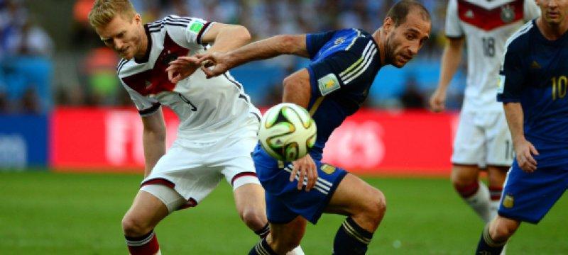 WM-Finale Deutschland-Argentinien am 13.07.2014