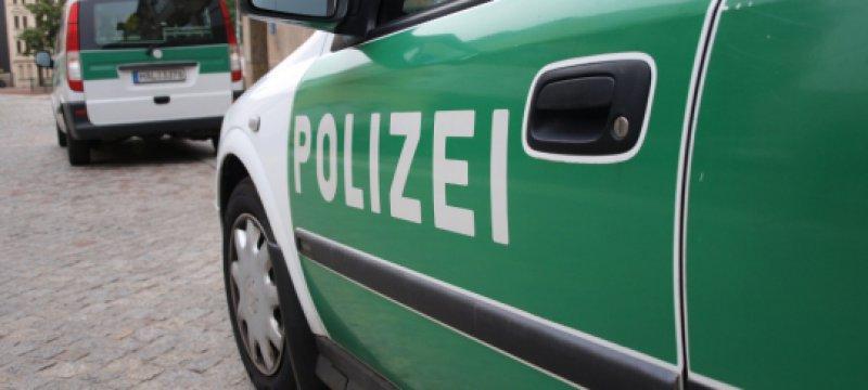 Polizeistreife im Einsatz