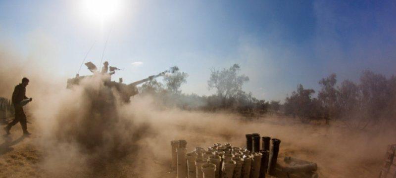 Israelischer Panzer im Gaza-Konflikt 2014