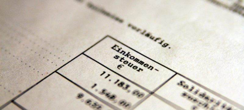 Einkommensteuer