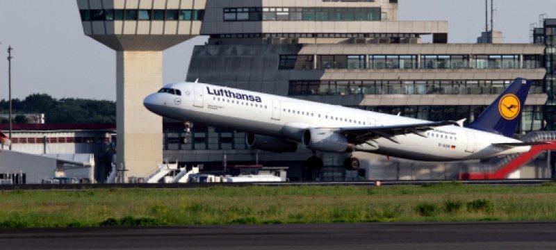 Lufthansa startet in Berlin-Tegel