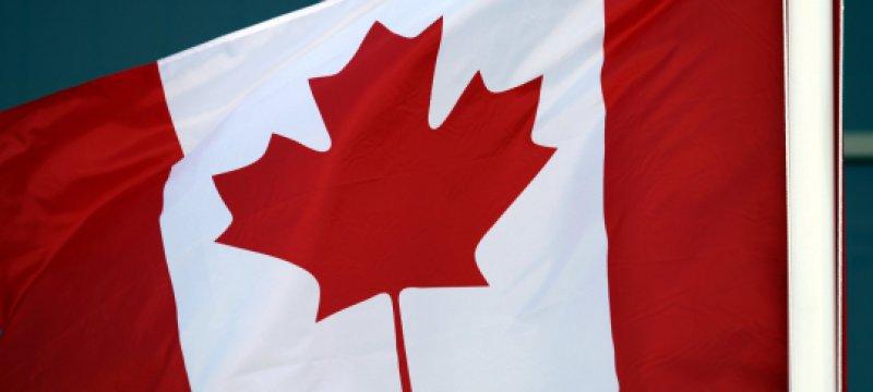 Fahne von Kanada