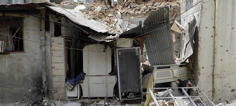 Syrien Krieg Homs