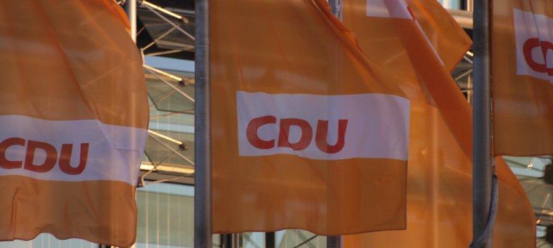 CDU-Flaggen