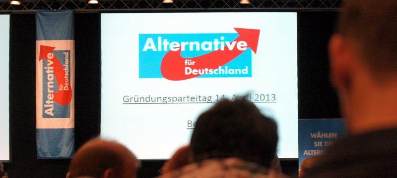 """Gründungsparteitag der """"Alternative für Deutschland"""""""