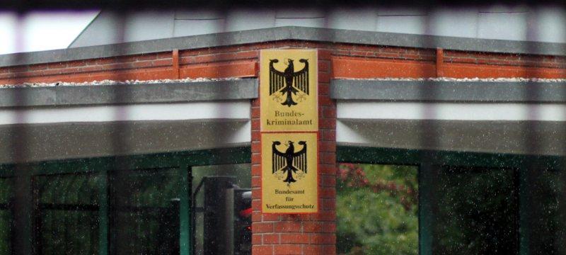 Bundeskriminalamt BKA und Bundesamt für Verfassungsschutz