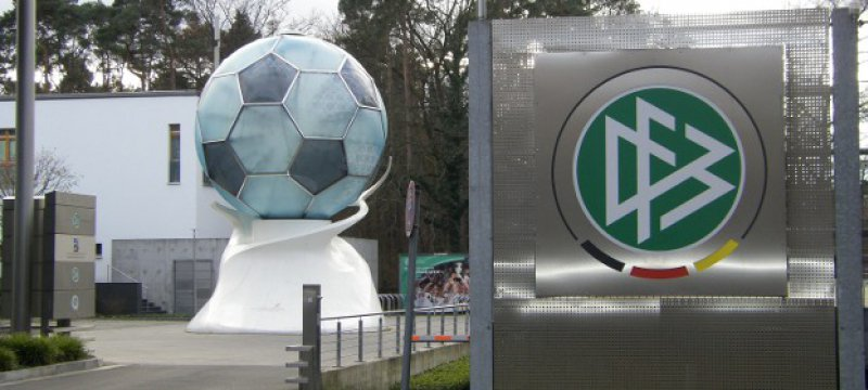 DFB-Zentrale in Frankfurt am Main