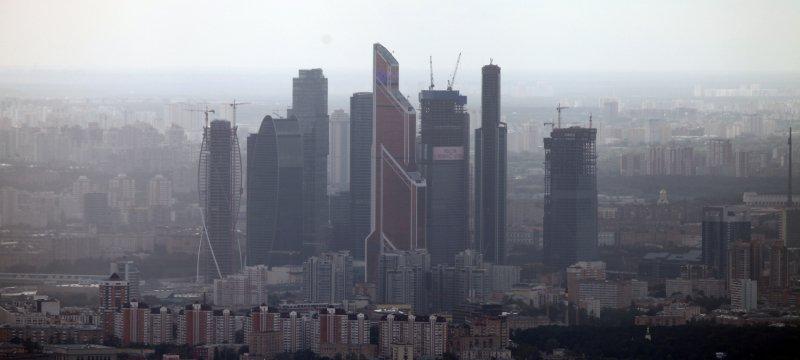 Finanzviertel von Moskau