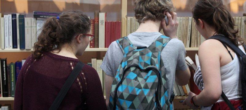 Jugendliche Leser
