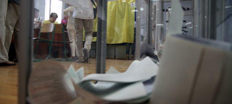 Wahllokal in Kiew