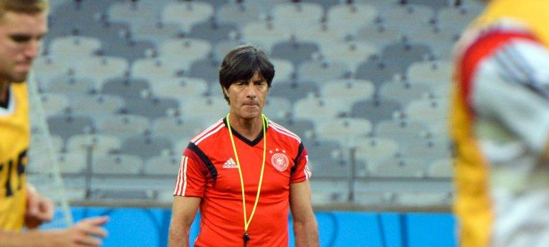 Jogi Löw bei der Fußball-WM in Brasilien