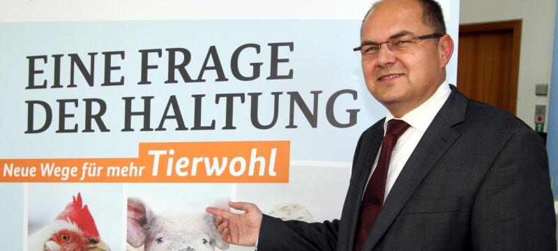 Landwirtschaftsminister Christian Schmidt am 06.10.2014