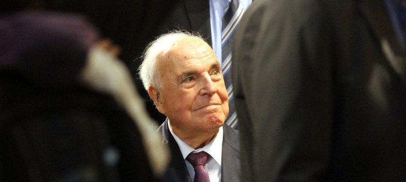 Helmut Kohl am 08.10.2014