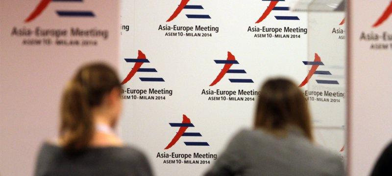 ASEM-Gipfel 2014 in Mailand