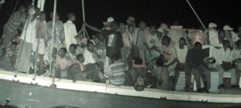 Flüchtlinge vor Haiti