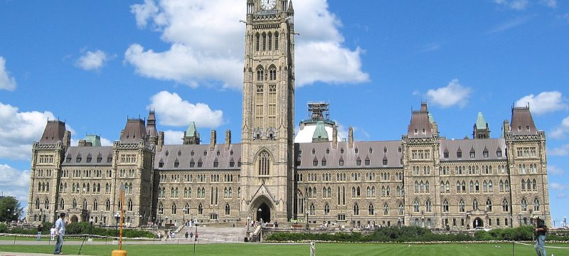 Kanada Parlament Ottawa