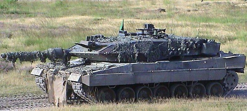 Leo2A5 Panzer Bundeswehr