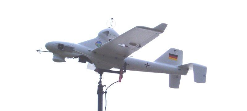 Drohne LUNA UAV