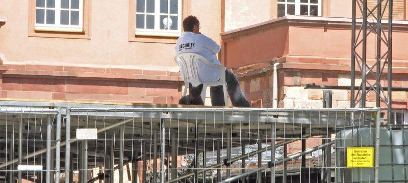 Security Sicherheitsdienst Mitarbeiter