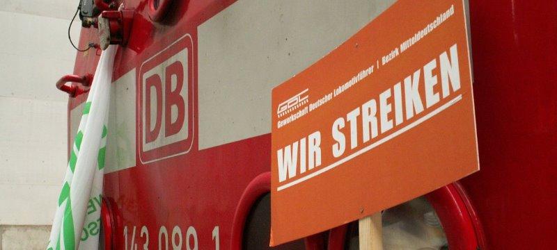 Streik GdL Bahn