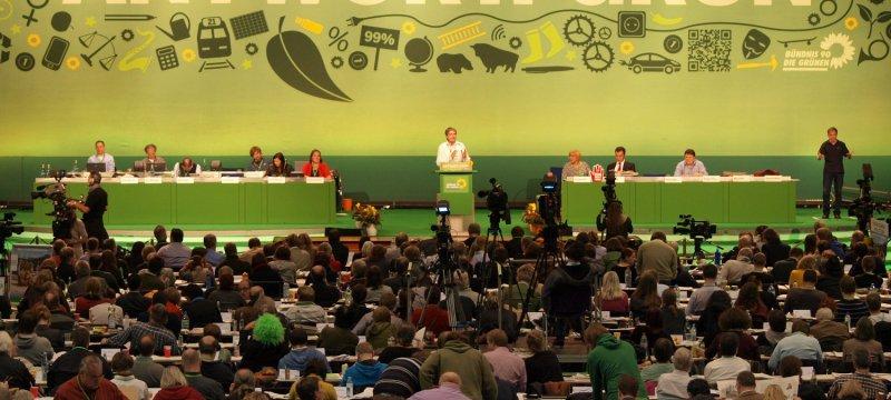 Parteitag von Bündnis 90 / Die Grünen