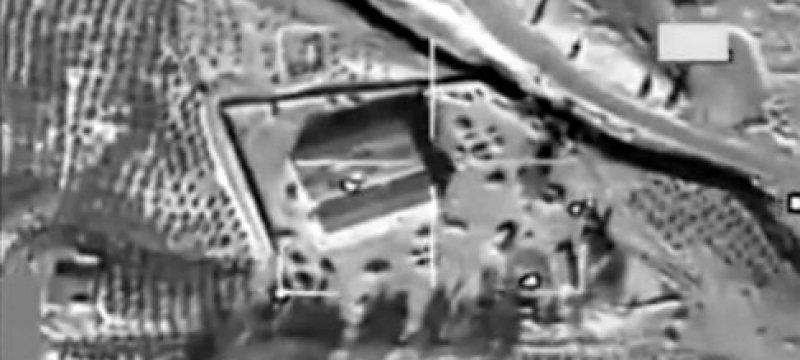 US-Luftangriff auf IS-Stellung in Syrien