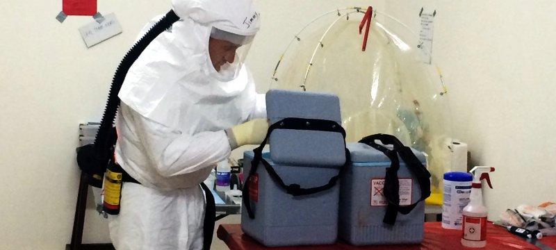 Ebola-Untersuchung