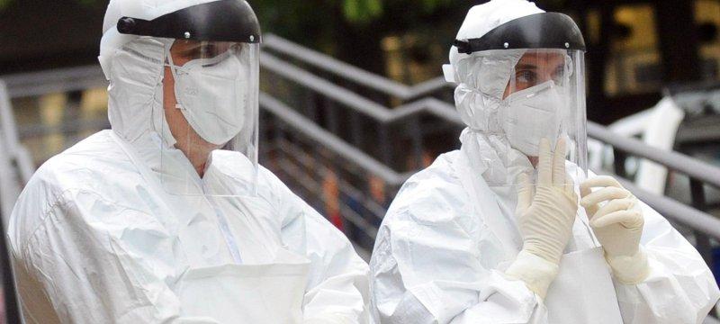 Ebola-Übung